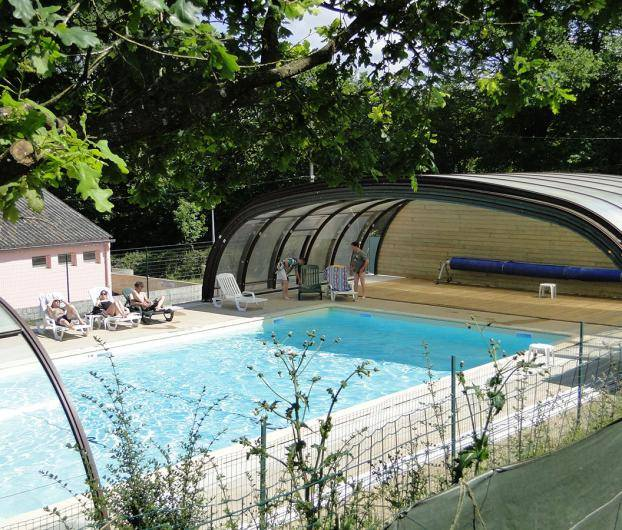 camping avec piscine couverte