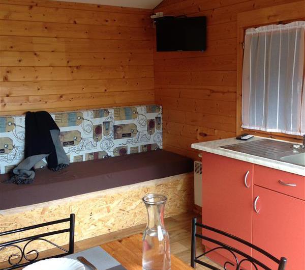 mobil home camping 3 étoiles bretagne sud
